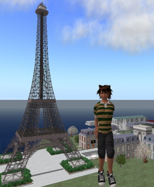 Pais visits a Paris sim to psyche up for the trip